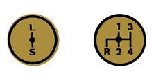 Aufkleber Label Sticker für Deutz Schaltschema D3006 Baureihe (9+10).