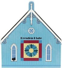 Cat's Meow Village Dresden Plate Quilt Barn #16-511 NEW *SHIPPING DISCOUNTS*