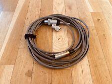 VerY RARE AKG cable for D30 D20, D17, S12, S36 6m / 19,5 feet (AKG 3S17B)