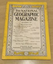 Vintage National Geographic Magazine September 1951 Back Issues