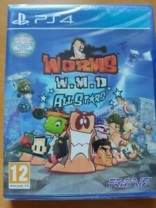Worms WMD W.M.D. All Stars  HD  'New & Sealed'  PS4