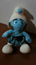 Build A Bear Small Fry Gusty Schtroumpf Smurf Plush Doll