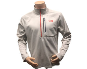 The North Face Mens 1/2 Zip Pullover Size Large New Light Brown