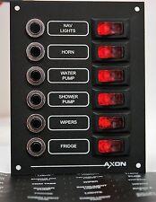 6 Way Illuminated Circuit Breaker/Switch Panel