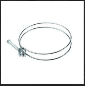 """DS Fasteners 4"""" Wire Hose Clamp"""