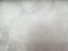 Silver Upholstery Micro Suede Fabric $9.99/Yard