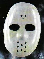 Masque dur Jason HOCKEY adulte DEGUISEMENT blanc neuf