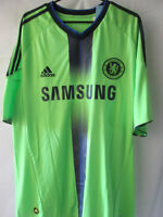 Chelsea 2010-2011 Away Football Shirt Size Large /12859 L