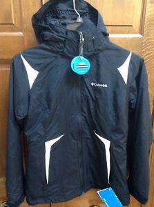 Columbia Arctic Freeze 3-in-1 Women S Interchange Parka Jacket Black XL 7906 010