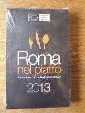Roma nel piatto 2013 la Pecora Nera BG/2