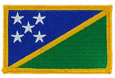 FLAG PATCH PATCHES Salomon Solomon Islands   IRON ON COUNTRY EMBROIDERED SMALL