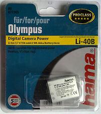 077305 hama° für OLYMPUS Li-40B IR/FE/Mju Pentax,Nikon,Fuji,usw PROCLASS