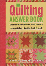 The QUILTING Answer Book, Weiland Talbert, 0715336320 (Patchwork. Quilting) NEW