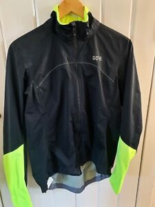 Gore Wear C5 Women's Active Cycling Jacket, Black/Neon Size: L (RRP £179.99)