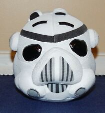 "5"" Angry Birds Star Wars STORM TROOPER PIG Plush Doll No Sound 2012"