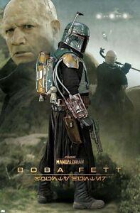 MANDALORIAN - BOBA FETT POSTER - 22x34 - STAR WARS 20177