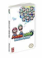 Mario and Luigi: Dream Team : Prima Official Game Guide by Prima Games Staff and