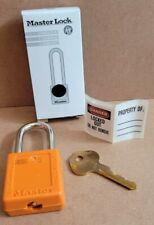Master Lock Lockout Padlock 410mk Orange 1 34h
