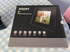 """Jessops 8"""" Digital Picture Frame Boxed"""