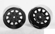 "Stamped Steel 1.7"" Beadlock Wagon Wheels BLACK Z-W0270 RC4WD 6 lug Hex Mount"