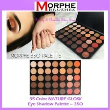 NEW Morphe Brushes 35-Color NATURE GLOW Eye Shadow Palette 35O FREE SHIPPING NIB