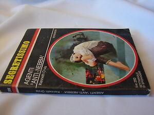 "(Kenneth Orvis) Agent ""anti-nebbia"" 1967 segretissimo n.208"
