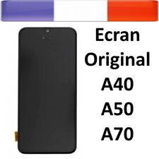 ECRAN LCD VITRE TACTILE SAMSUNG GALAXY A40 A50 A70 A405 A505 A705 AVEC CHASSIS