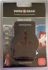 Swiss Gear Adaptor Plug, Worldwide, Black 1 Each ~ Wj3172Bk ~ Free Shipping