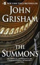 The Summons - John Grisham paperback GC (postage discount apply combine & save)