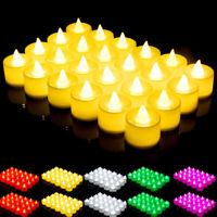 Flameless LED Candle Tea Light Flickering Wedding Celebration Battery Operated