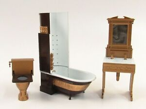 Dollhouse Handcraft Designs Victorian Loo Collection In Original Boxes E424
