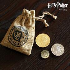3PCS Harry Potter Hogwarts Gringotts Bank Wizarding Galleons Commemorative Coin$