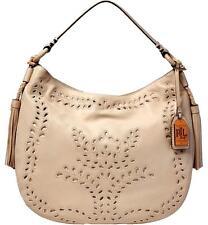 Lauren Ralph Lauren Barlow Jamie Hobo Vanilla Large Bag