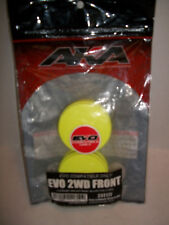 AKA #23211 1/10 Buggy EVO TLR Front YELLOW Wheels (2) Free Shipping!  ACS