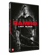 DVD  -  RAMBO : LAST BLOOD (2019) SYLVESTER STALLONE  (NEW / NIEUW / SEALED)