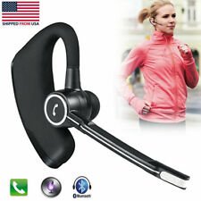 Noise Cancelling Bluetooth Earphone Handsfree Call Earpiece Fits For Sports Work