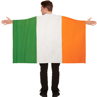 San Patricio Día Adulto Capa Irlandés Color Bandera 5ft X 3ft Irlanda Disfraz