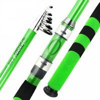 Telescopic Fishing Rod Carbon Fiber Portable Spinning Travel Pole Ultralight