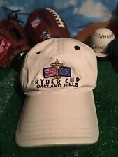 Ryder Cup 2004 Oakland Hills Mi Golf Tournament Cap Hat Khaki Tan Adjustable H34
