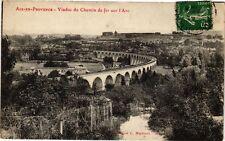 CPA AIX-en-PROVENCE - Viaduc du chemin de fer sur l'Arc (213803)