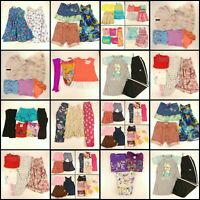 Huge Lot Girls Small Clothes 6 6X Childrens Kids Tops Pants Shirts PJ Clothing