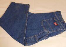 Dickies Carpenter Jeans Medium Wash Tapered Leg Men's Size 42 X 32