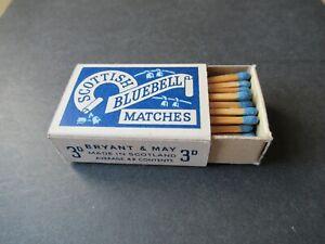 OLD SCOTTISH BLUEBELL FULL MATCHBOX.