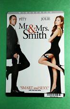 MR & MRS SMITH ANGELINA JOLIE BRAD PITT MINI POSTER BACKER CARD (NOT a movie )