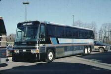 Coach Travel Unlimited Mci bus Kodachrome original Kodak slide