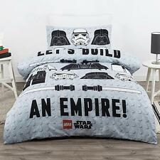 LEGO Star Wars Empire Storm Trooper Darth Vader Single Bed Quilt Cover Set
