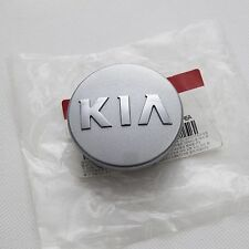 KIA LOGO Wheel Center Cap Silver Color 4EA For Rondo Carens 2007 2016