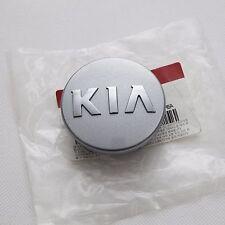 KIA LOGO Wheel Center Cap Silver Color 4EA For Rondo Carens 2007 2016