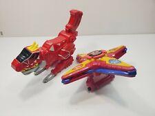 Power Rangers Dino Super Charge T-Rex Gun /Ninja Steel DX Ninja Battle Morpher