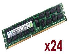 24x 8GB 192GB RDIMM ECC REG DDR3 1333 MHz Speicher RAM HP Proliant ML350p Gen8